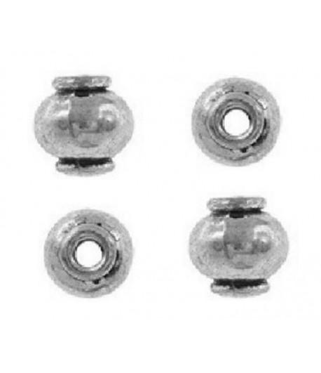 8x8mm  Metal Lantern Beads...