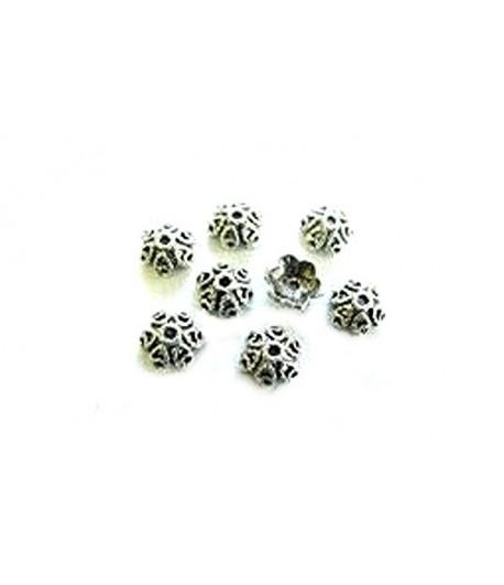 Metal Bead Caps - Jen250 -...