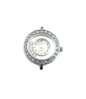 Studded Watch Face with...