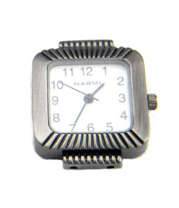 4045 27x30mm Guarded Two Hole Beading Watch Face