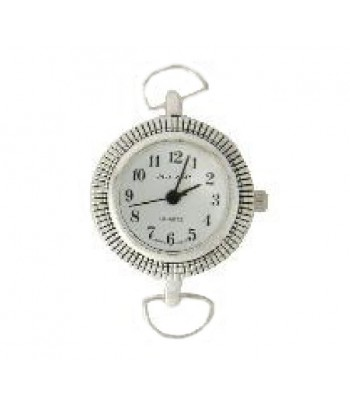 L-135 Size 1 inch Silver Watch Face for Beading