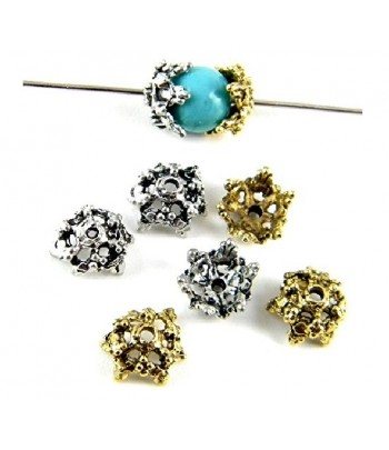 313 Metal Bead Caps  Qty 20 Fits 6 - 7mm beads