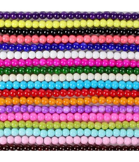 FM-12XX - 6mm Druk Beads