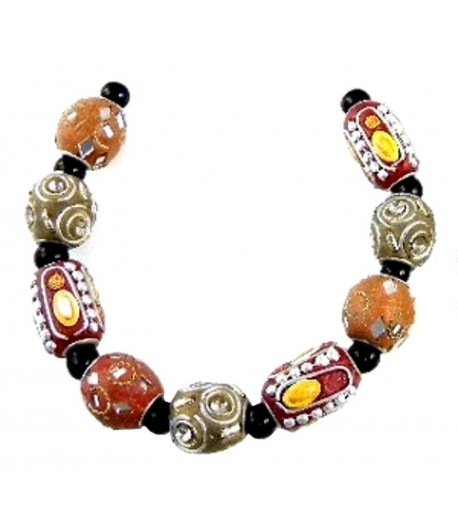 Fancy Inlayed Beads1